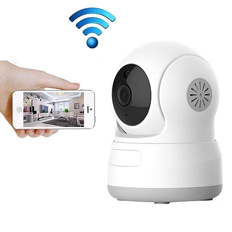 WiFi Cámara IP, aisino HD 720P cámara interior inalámbrica cámara ...