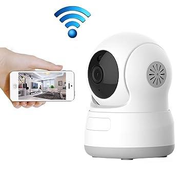 WiFi Cámara IP, aisino HD 720P cámara interior inalámbrica cámara de vigilancia de seguridad Monitor