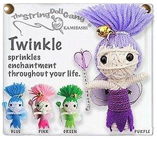 - Kamibashi Twinkle the Fairy Original String Doll Gang Keychain Toy