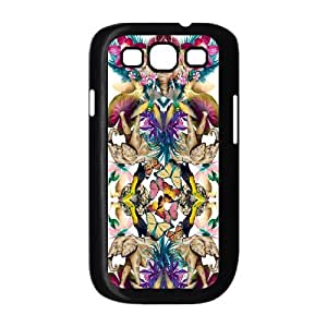Samsung Galaxy S3 I9300 Elephant flower Phone Back Case Art Print Design Hard Shell Protection LK051401