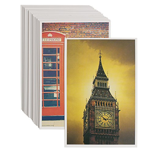 Remember London Photograph Postcards - Pack of 30 - Send Well Wishes to a Loved One or Memorialize Your Trip to -