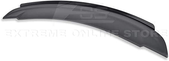 2 Pcs Satin Black V2 Wing Decklid Flap Wickerbill Fit 14-15 Camaro OE Spoiler