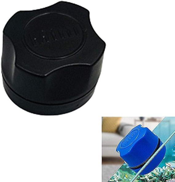 Limpia Cristales Magnetico Acuarios Accesorios Vidrio del Acuario de Limpieza Aspirador de Grava para pecera Black: Amazon.es: Hogar