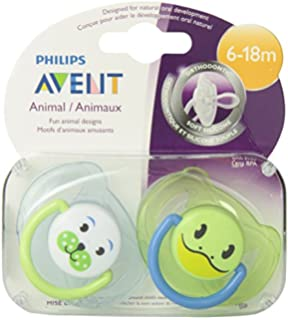 Amazon.com : Philips AVENT BPA Free Night Time Pacifier, 6-18 ...