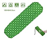 Sleeping Pad by Hikenture - Lightweight Compact Air Sleeping Mattress- Ultralight & Pads