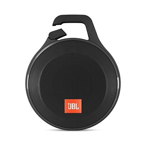 JBL JBLCLIPPLUSBLK Clip+ Splashproof Portable Bluetooth Speaker (Black)