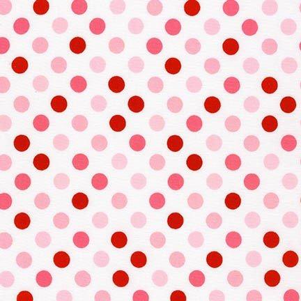 Robert Kaufman Spot On Dots Bubble Gum Aspirin - Gum Bubble Dot