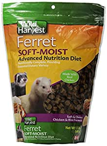 Wild Harvest Soft & Moist Advanced Nutrition Ferret Diet, 1.5-Pound (P-84145)