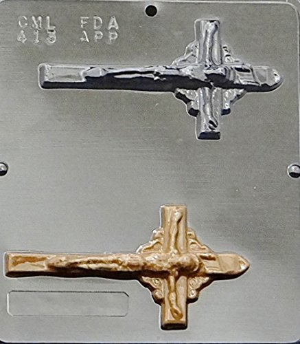 Crucifix Chocolate Candy Mold Religious 413 - Molds Religious Candy