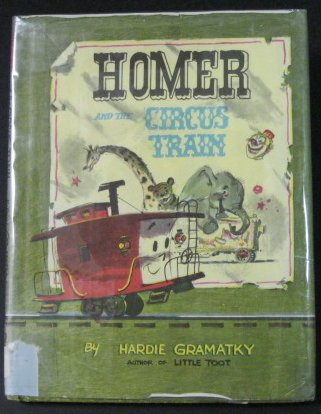 Homer and the Circus Train (Circus Caboose)