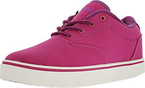 (Heelys Girl's Launch (Little Kid/Big Kid/Adult) Berry/Purple/White Roller Skate)
