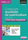 Concours Auxiliaire de puériculture - Entrée en IFAP - 1 100 tests d'aptitude - Concours 2016-2017