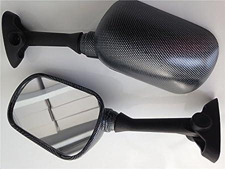 BC XHT Motorcycle Carbon Fiber Oem Replacement Racing Mirrors For 2001-2002 Suzuki GSXR 1000//2001-2003 Suzuki GSXR 600//2001-2003 Suzuki GSXR 750