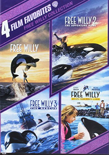 4 Film Favorites: Free Willy 1-4 (4FF)
