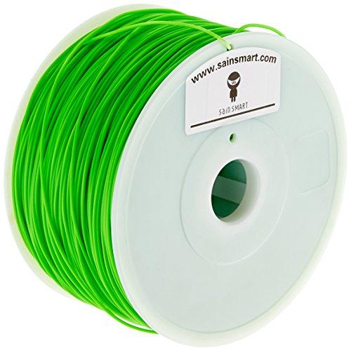 SainSmart Hips Filament pour imprimantes 3D, diamètre 1,75mm, diamètre Capacité 1kg, Vert