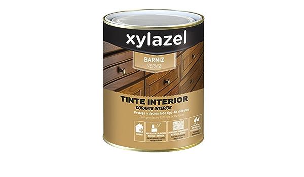 Xylazel 0410003 Barniz Tinte Interior, 750 ml: Amazon.es ...
