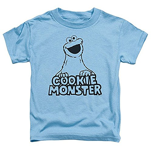 Cookie Monster Face Toddler T Shirt 2T