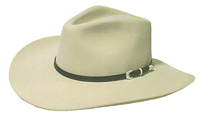 eebd7010b4 Stetson Cowboy Hat 6X Carson South Point Color Silver Belly (6 3 4)