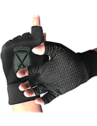 US Army Retro 10th Mountain Division Cycling Gloves Workout Gloves for Biking Riding Gym Sports