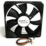 StarTech.com FAN12025PWM 120x25mm Computer Case Fan with PWM (Black)