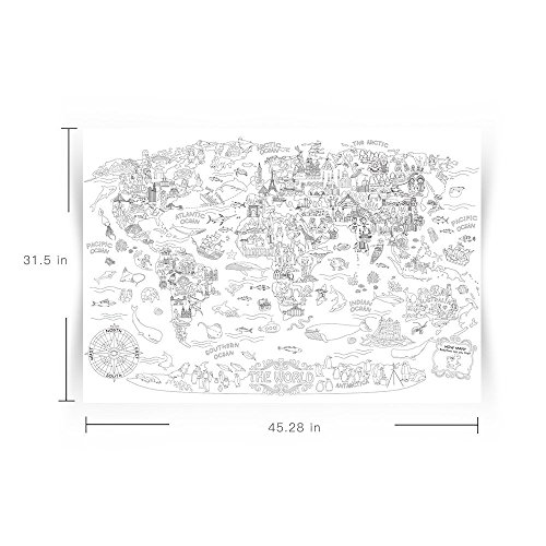 free shipping giant wall size coloring poster huge graffiti coloring