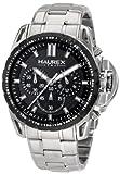 Haurex Italy 0D367UNN Talento-R Chrono - Reloj deportivo para hombre (acero PVD, bisel biselado), color negro