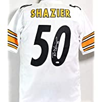 $125 » Ryan Shazier Autographed White Pro Style Jersey - Beckett W Auth