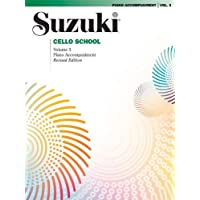 Suzuki Cello School, Volume 3 - Piano Accompaniments