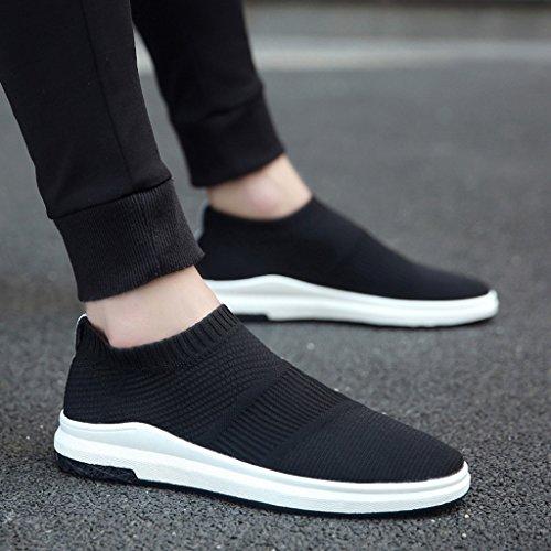 sportivo Espadrillas uomo scarpe 40 Black scarpe scarpe Scarpe da coreano da Size di Scarpe casual Black stoffa uomo di pigro selvaggio tela tendenza di stile Color uomo basse traspirante da UPwxrtqU