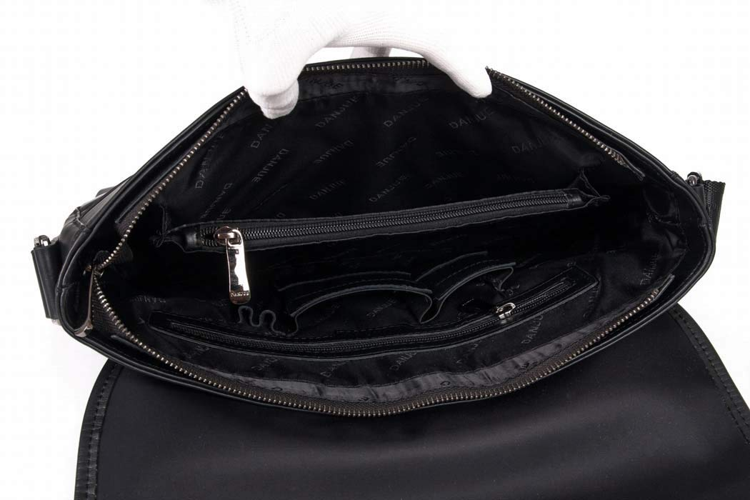 DUXX Mens Genuine Leather Shoulder Messenger Bag Briefcase Hand Bags