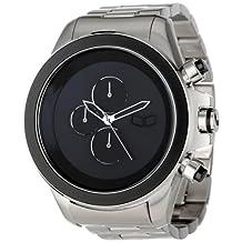 Vestal Men's ZR3024 ZR-3 Minimalist Silver Black Watch