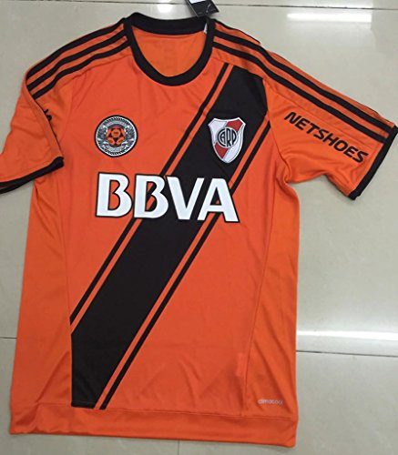 YGDHM River Plate commemorate Home Soccer Jersey Orange