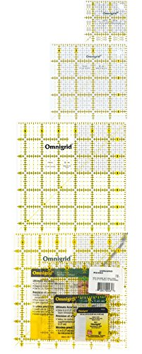 Omnigrid Mini Square Set, 3 Sizes: R25G, R45G, R65G