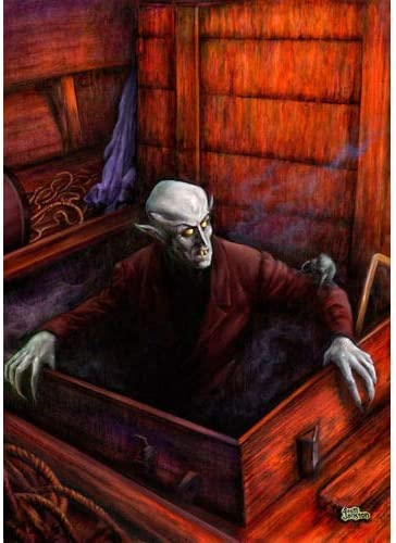 "Nosferatu Dracula Photo Print 13x19/"""