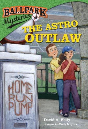 Houston Astros Pinstripe - Ballpark Mysteries #4: The Astro Outlaw