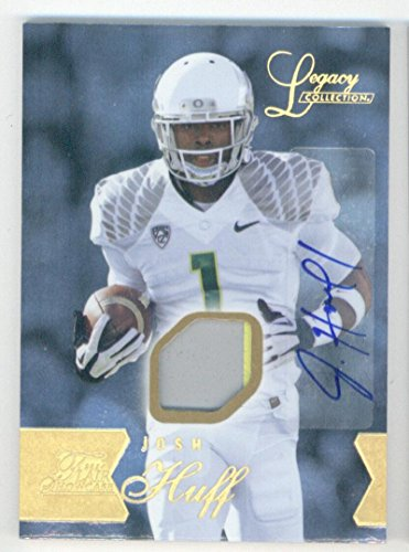 Football NFL 2014 Showcase Rookies Row 1 Legacy Autograph Patches #126 Josh Huff GU Autograph of (Flair Nfl Football)