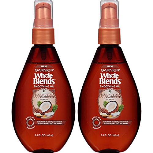 Garnier Hair Care Whole Blends Smoothing Oil with Coconut Oi