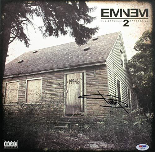 Eminem Autographed Signed The Marshall Mathers Lp 2 Album Cover Memorabilia PSA/DNA #Ab04765