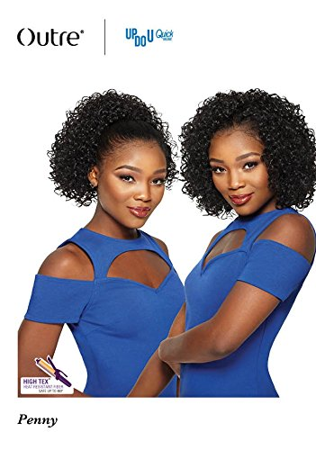 Amazon.com   OUTRE Synthetic Hair Half Wig Quick Weave Up Do U Penny ... 3d7f69f5b