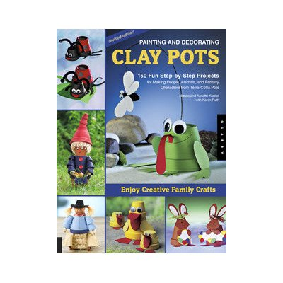 Painting and Decorating Clay Pots - Revised Edition by Quarry Books (Image #1)