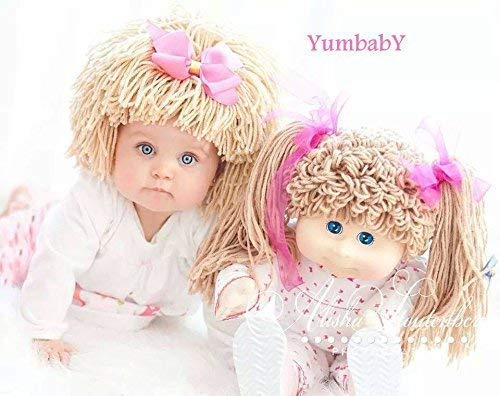 Cabbage Patch Hat for Kids Yarn Wig Halloween Costume for $<!--$36.95-->