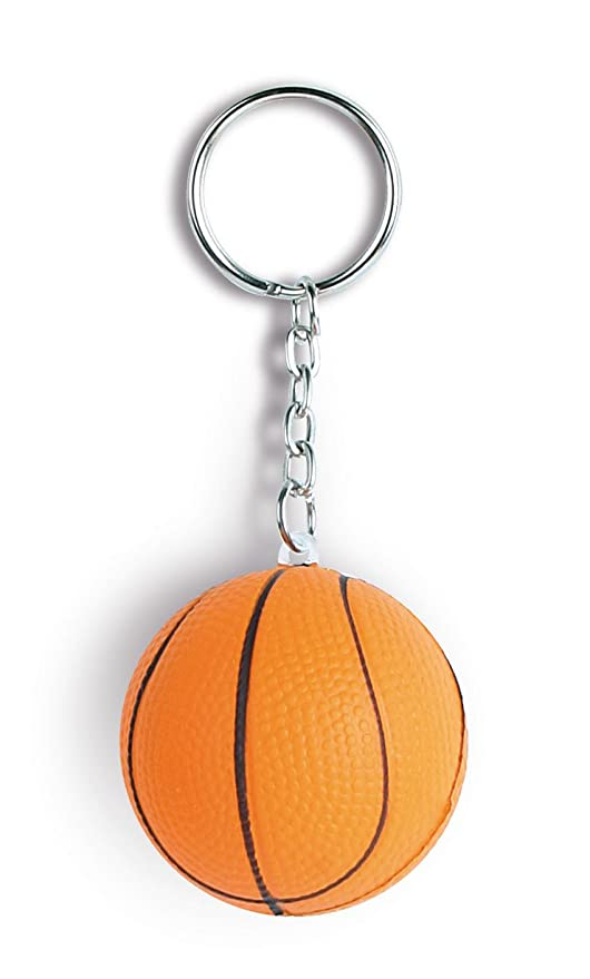 Pelota de basket. Antistress Llavero 10 unidades: Amazon.es ...