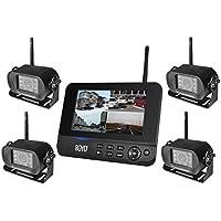 BOYO VTC700RQ-4 4Ch digital wireless car rear view with DVR system,