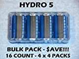 #9: Schick Hydro 5 - 16 Count Bulk Pack (4 x 4 Packs)