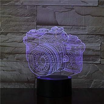 Wallfia Cámara réflex digital Cámara digital Luces 3D para bebés ...