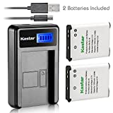 Kastar Compatible Battery and LCD USB Charger Replacement for Nikon EN-EL19...