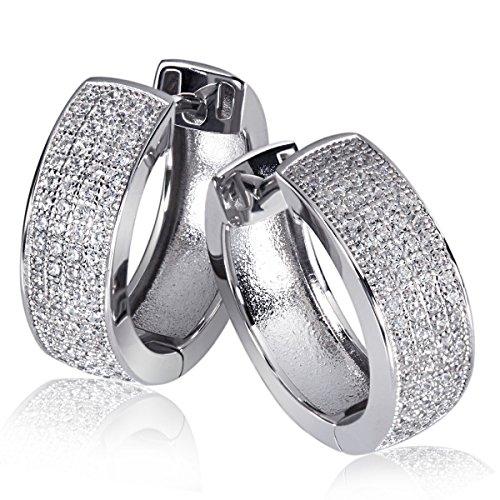 Goldmaid - Pa O6134S - Boucles d'Oreille Femme - Argent 925/1000 5.6 Gr - Oxyde de Zirconium