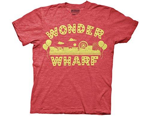 Ripple Junction Bob's Burgers Wonder Wharf Adult T-Shirt XL Heather ()