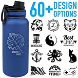 Tempercraft 32oz Vacuum Insulated Sport Bottle | Custom Laser Engraved Deal (Small Image)