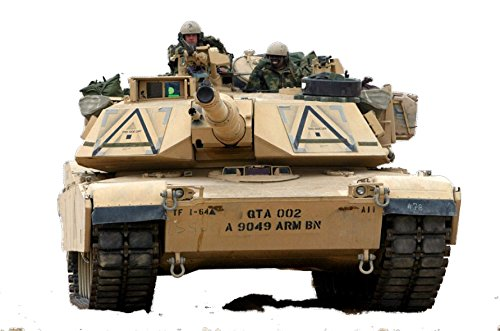 Cheap  Military Tank M1 Abrams Wall Decal Sticker Boys Bedroom Soldier Wall Decor..